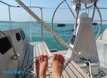 Cette fois Avec les pieds sur le bateau et non pas dans les montagnes (juillet 2015)