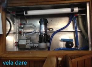 Dessalinateur-300x219 Wassermacher Katadyne Power Survivor 80E innenausbau  Wassermacher Trinkwasser Segelboot Katadyn
