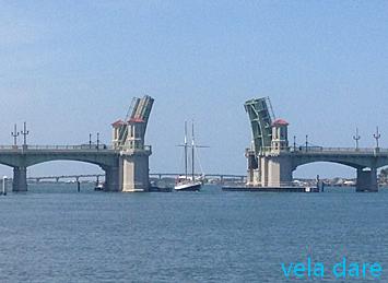 AtAugustine ICW de Daytona Beach à Brunswick amerique  voilier vela dare USA St Simon Island naviguer ICW Daytona Beach Brunswick Amérique