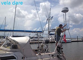 sansvoiles 10 choses à faire pour préparer son voilier à la saison des ouragans exterieur amerique  voilier USA saison préparer précautions péparations ouragans ouragan mesures choses à faire bateau Amérique