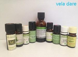 les huiles essentielles utilisées pendant mon voyage