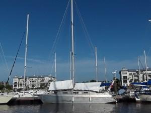 Quotidien à bord de notre voilier vela dare après l ouragan