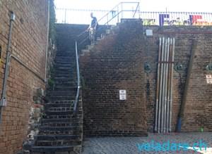 Historische Treppe in Savannah