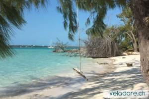 plages de George Town, Exumas, Bahamas