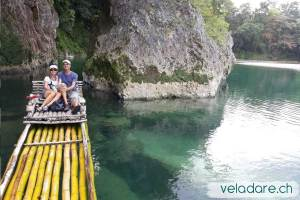 River Rafting auf Rio Grande, Jamaika