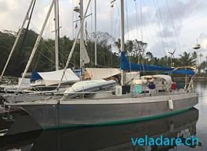 notre voilier vela dare à Turtle Cay Marina