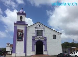 Kirche mit dem Cristo Negro in Portobelo
