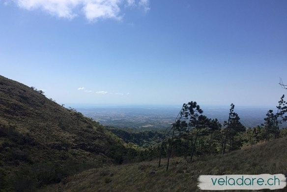 El Valle de Anton: Windig, aber man kann das Meer sehen