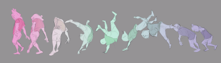 Body in Motion gestures