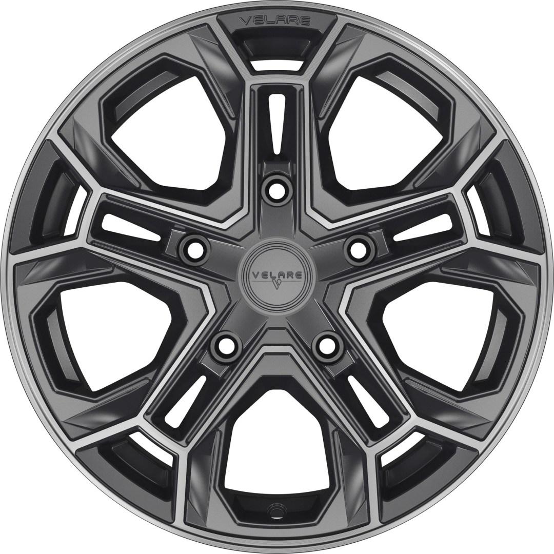 Velare VLR ST Platinum Grey Machined Face 1
