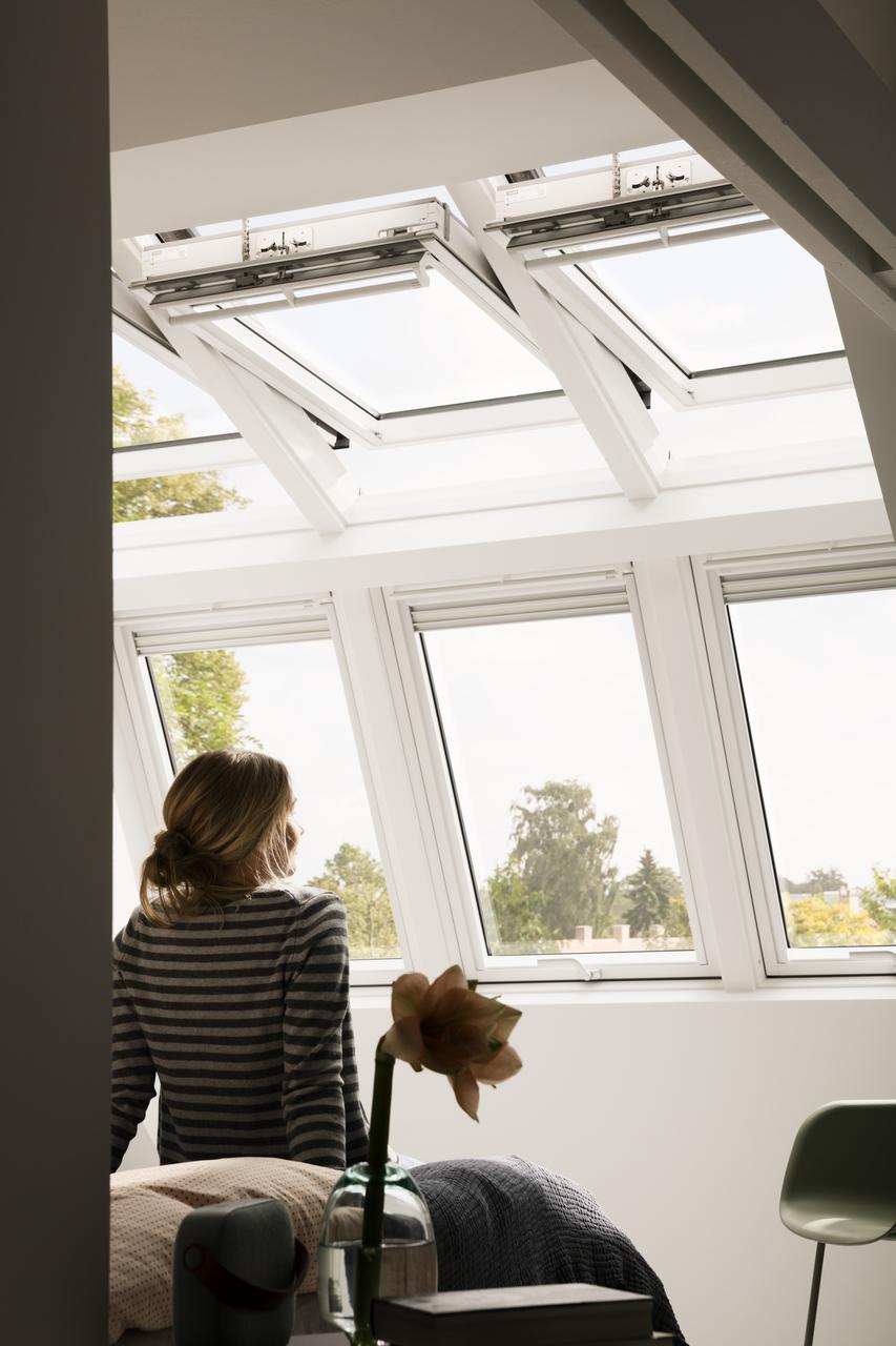 fenetre de toit velux integra velux