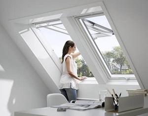schwingfenster fur das dach velux