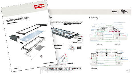 velux window motor wiring diagram bosch o2 sensor manual modular skylights technical specifications download as a pdf