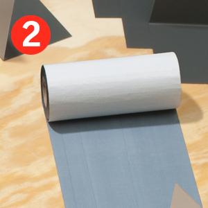 skylight installation layers adhesive tape underlayment