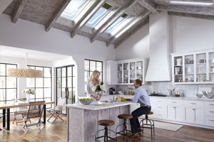 kitchen skylights hardware trends filled with daylight and fresh air from the velux