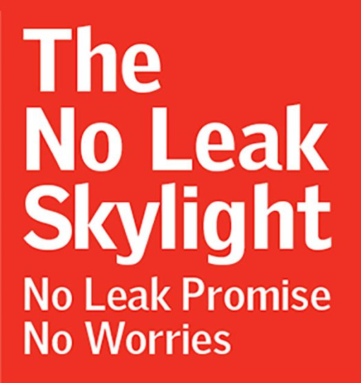 No leak logo