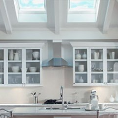 Kitchen Skylights Wall Mounted Cabinets With Velux