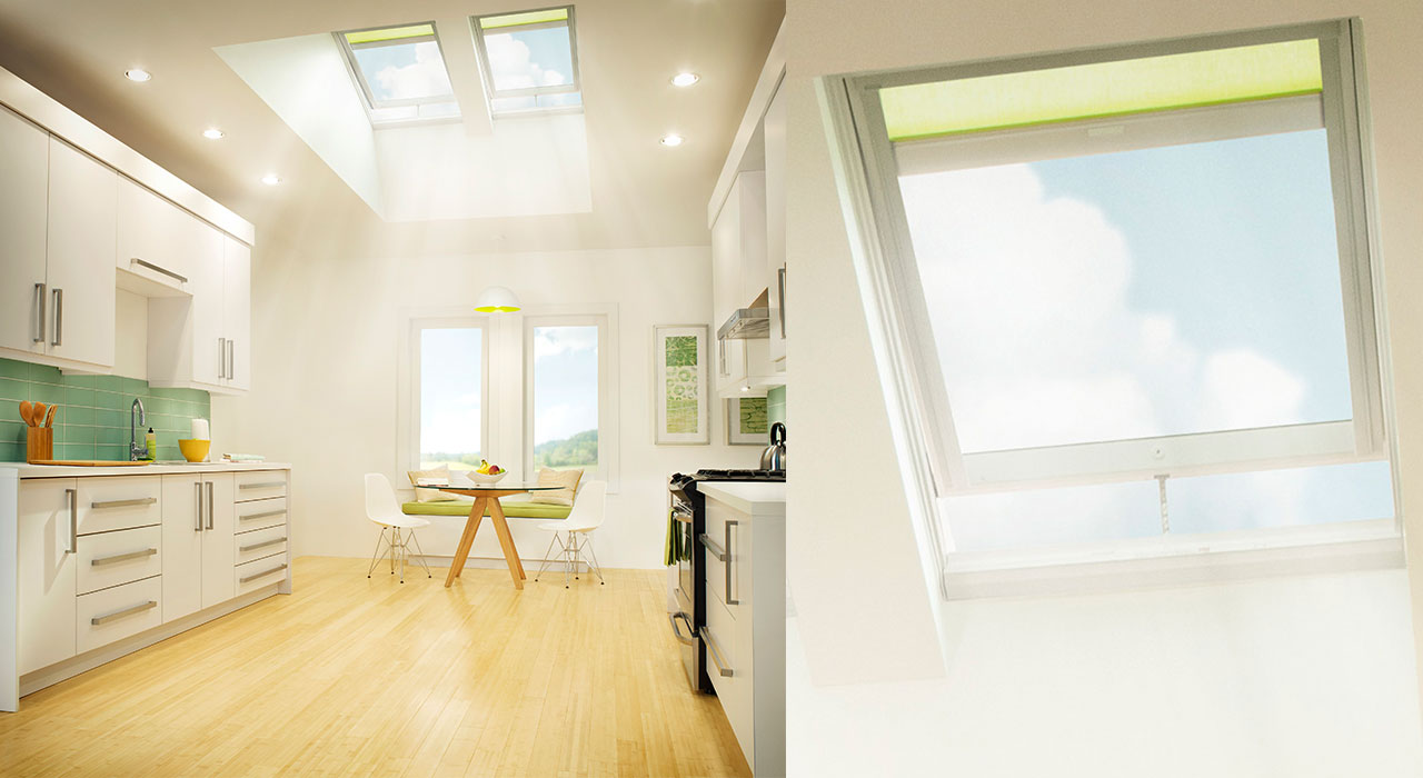 kitchen skylights how much does a remodel cost velux inspiration gallery of images 1 x solar powered fresh air skylight