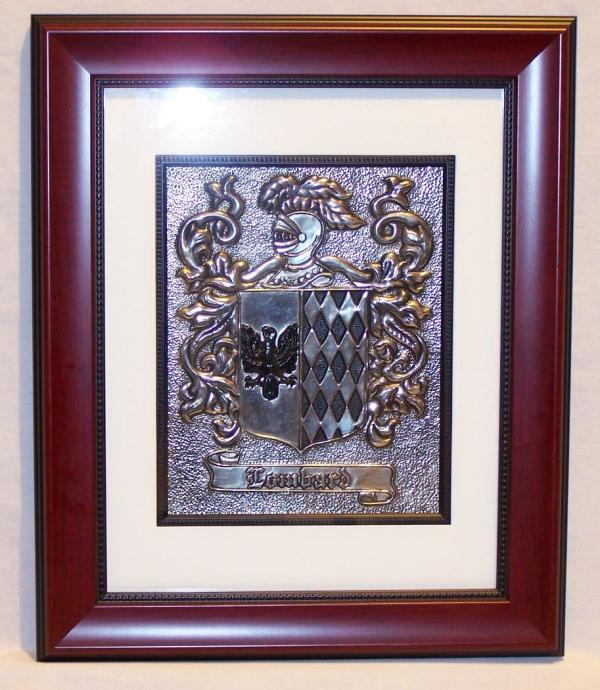 Coat Of Arms 8x10 - 11x14 Frame