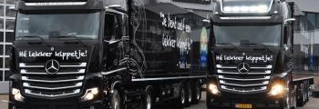 2 nieuwe vrachtwagens