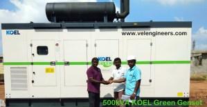 500kVA KOEL Green Generators