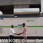 200kva koel green gensets