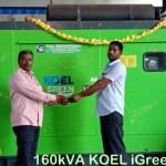 160kVA KOEL Green Generators