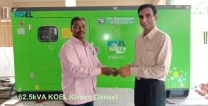 62.5kVA Kirloskar Green Generators