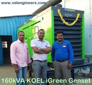 160kva generator prices