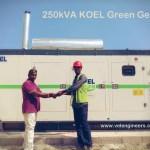 250kVA Kirloskar Green KOEL Generators