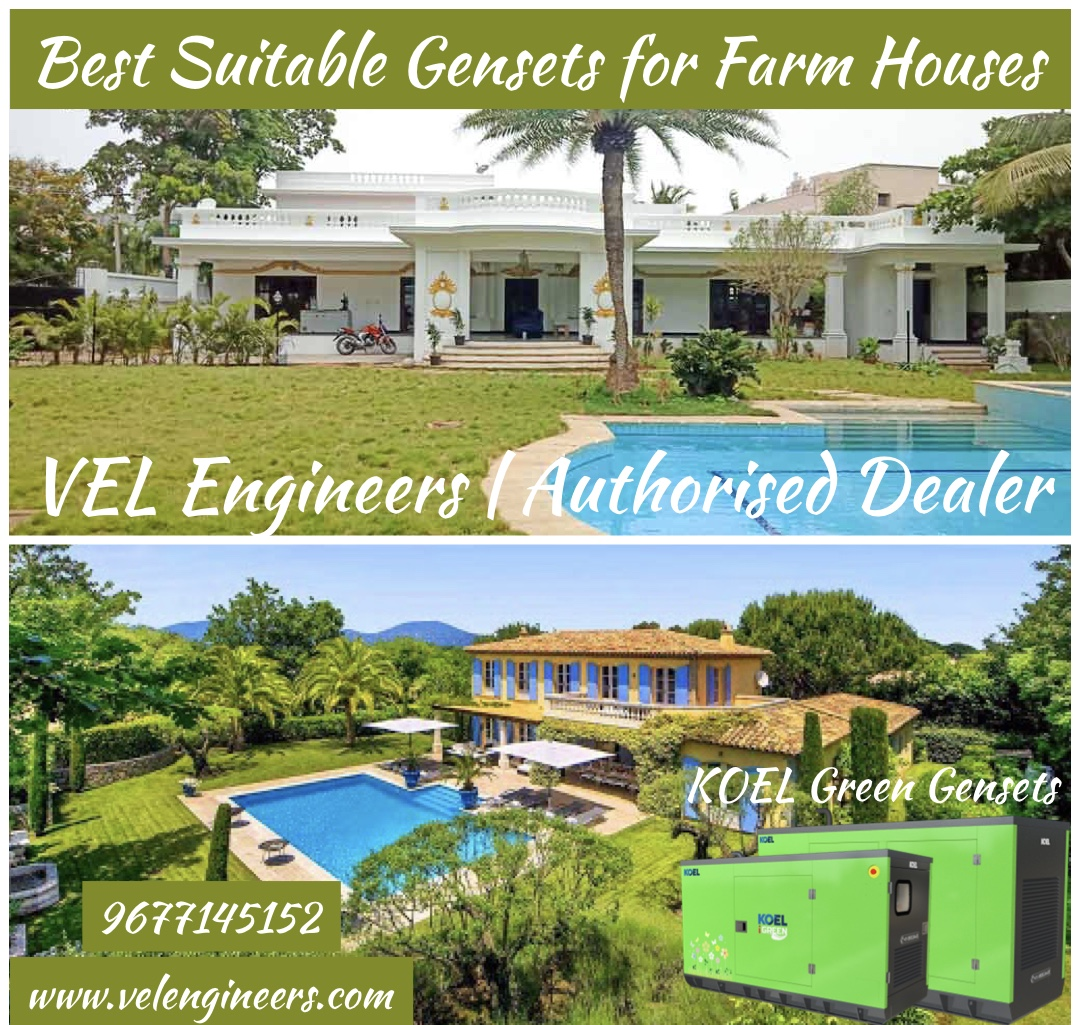Gensets for farm house