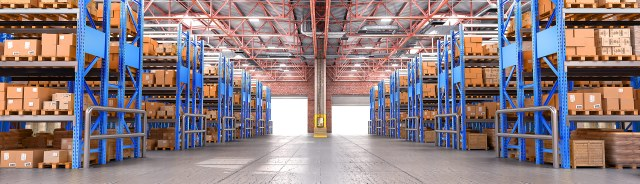 Gensets for warehouse