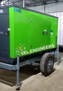 Trolley Mounted Generators