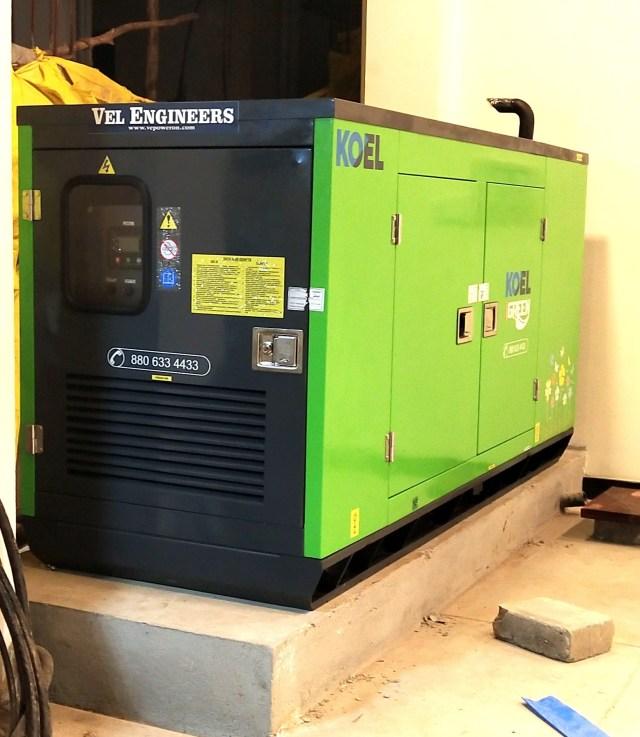 25kVA Generator Prices in Chennai