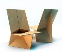 The Folded chair  plain plywood chair | Velichko Velikov ...