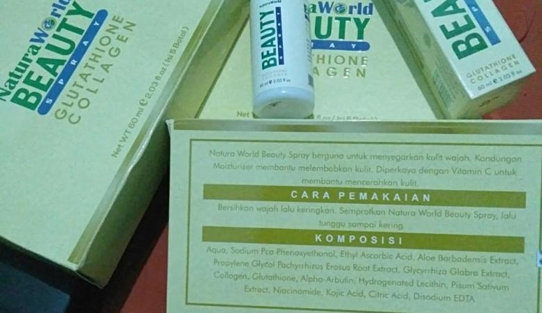 WOW! Ini Efek Samping Natura Beauty Spray untuk Wajah dan Kulit!