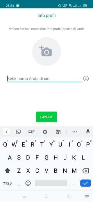 Isi Nama profil