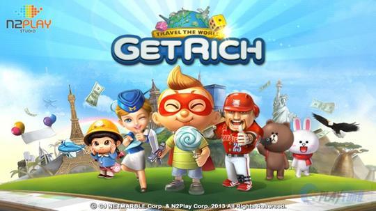 LINE Lets Get Rich