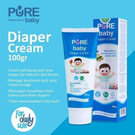 manfaat Pure Baby Diaper Cream