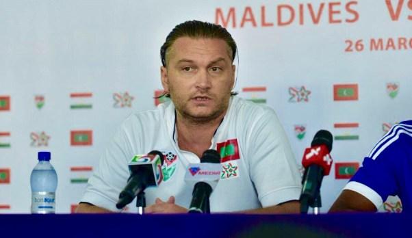 Head Coach at Maldives national football team / 2015