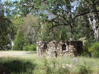 stone fort at 7X Ranch