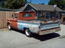 My dad had a Chevy truck like this in the blue color.