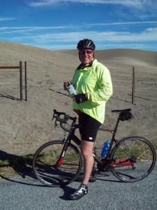 on the saddle between Hog & Ranchita Canyons