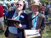 Ken Wallace & Ted Ernst, concours judges