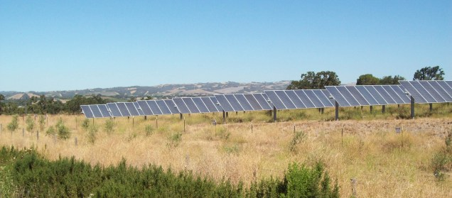 solar installation on El Pomar Drive