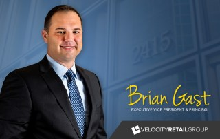 Velocity Retail Group Promotes Brian Gast to Executive Vice President and Principal 4