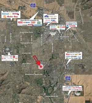 Shea Boulevard and Scottsdale Road - SWC 5