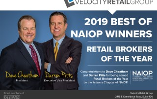 Velocity Retail Winner of NAIOP's Retail Broker Team of the Year 6