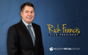 Rick Francis - Velocity Retail Group