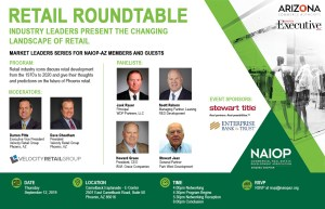 NAIOP-AZ Retail Market Leader Series 1